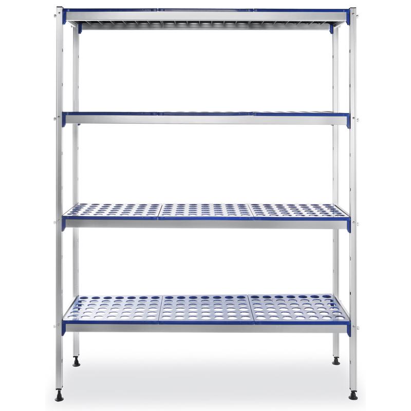 Cucina scaffale alluminio per cella o frigo - Scaffale per cucina ...