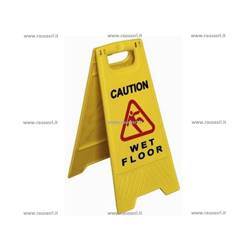 Attrezzature pulizia - Segnale pavimento bagnato ...